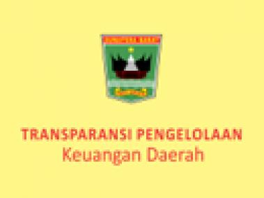 TRANSPARANSI ANGGARAN DAERAH