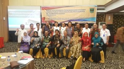 Rapat Koordinasi Pengawasan Daerah Inspektorat Provinsi/Kabupaten/Kota Se-Sumatera Barat Tahun 2019
